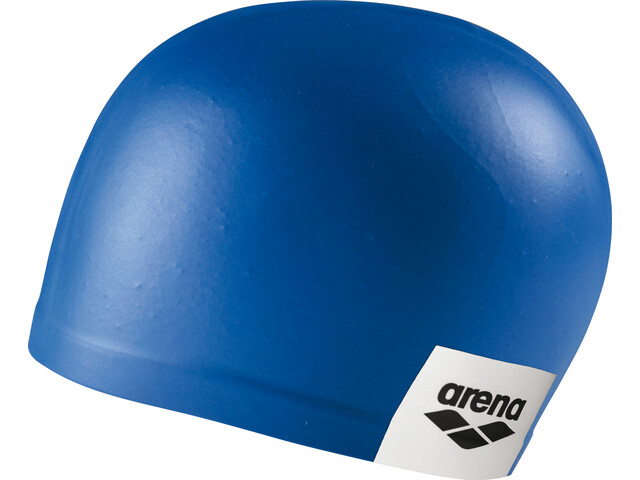 arena Logo Moulded Swimming Cap, blue